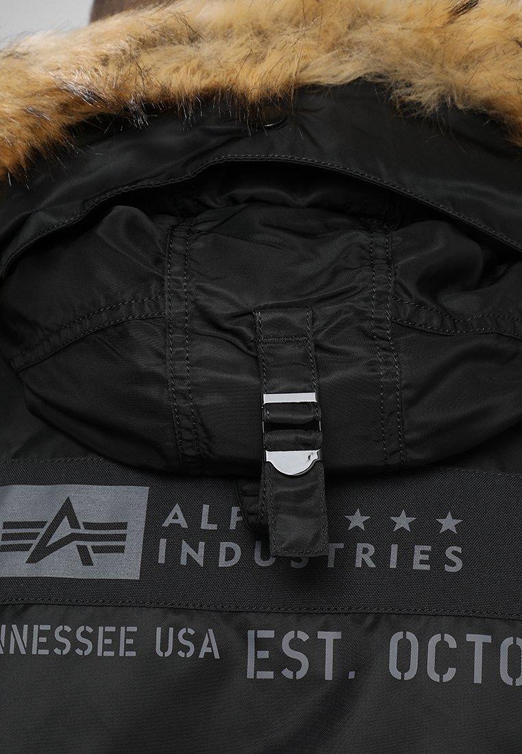 Alpha Industries Airborne - Vinterkappa /-rock Black