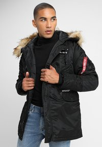 Alpha Industries - AIRBORNE - Cappotto invernale - black - 0