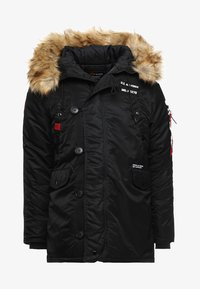 Alpha Industries - AIRBORNE - Cappotto invernale - black - 8