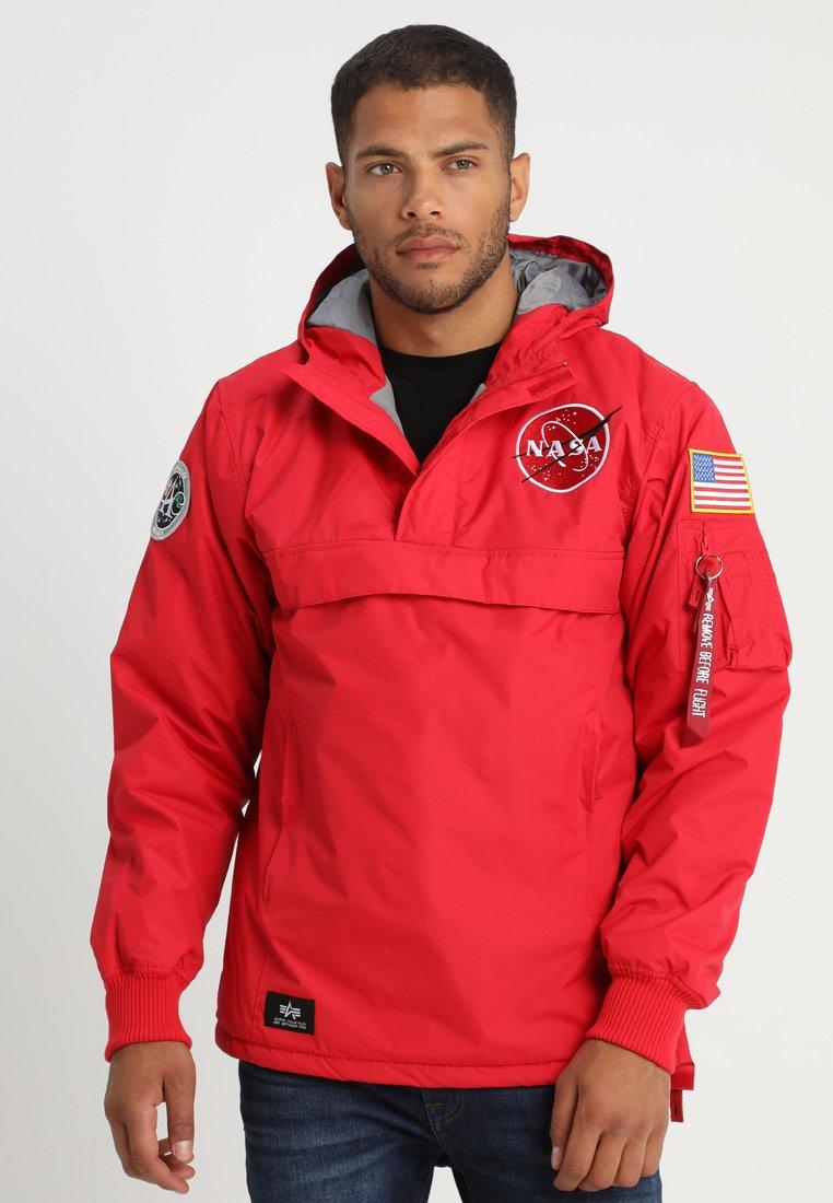 Alpha Industries - NASA ANORAKFUNKTION - Cortaviento - speed red