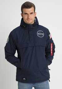 Alpha Industries - NASA ANORAKFUNKTION - Cortaviento - rep blue - 0