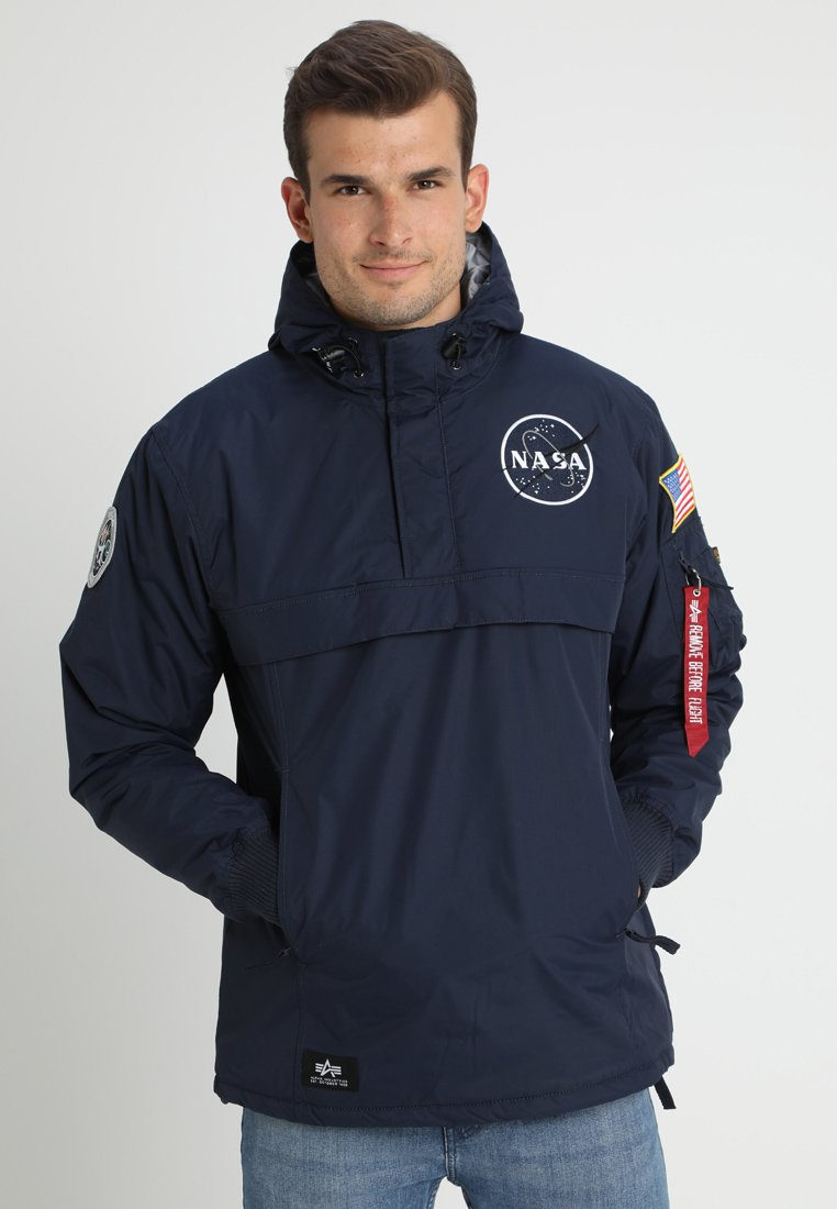 Alpha Industries - NASA ANORAKFUNKTION - Cortaviento - rep blue