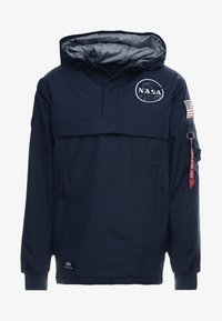 Alpha Industries - NASA ANORAKFUNKTION - Cortaviento - rep blue - 5