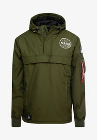Alpha Industries - NASA ANORAKFUNKTION - Cortaviento - dark green - 7