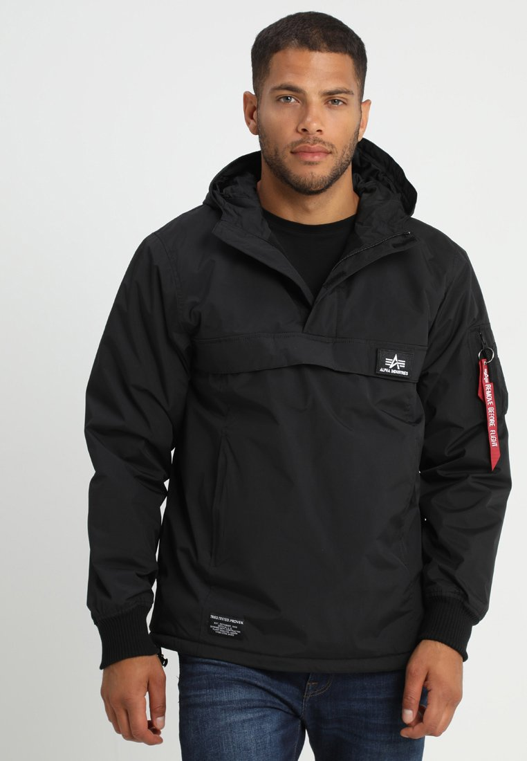 Alpha Industries - ANORAK FUNKTION - Chaqueta de entretiempo - black