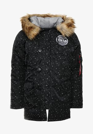 NASA STARRY - Winter coat - black starry