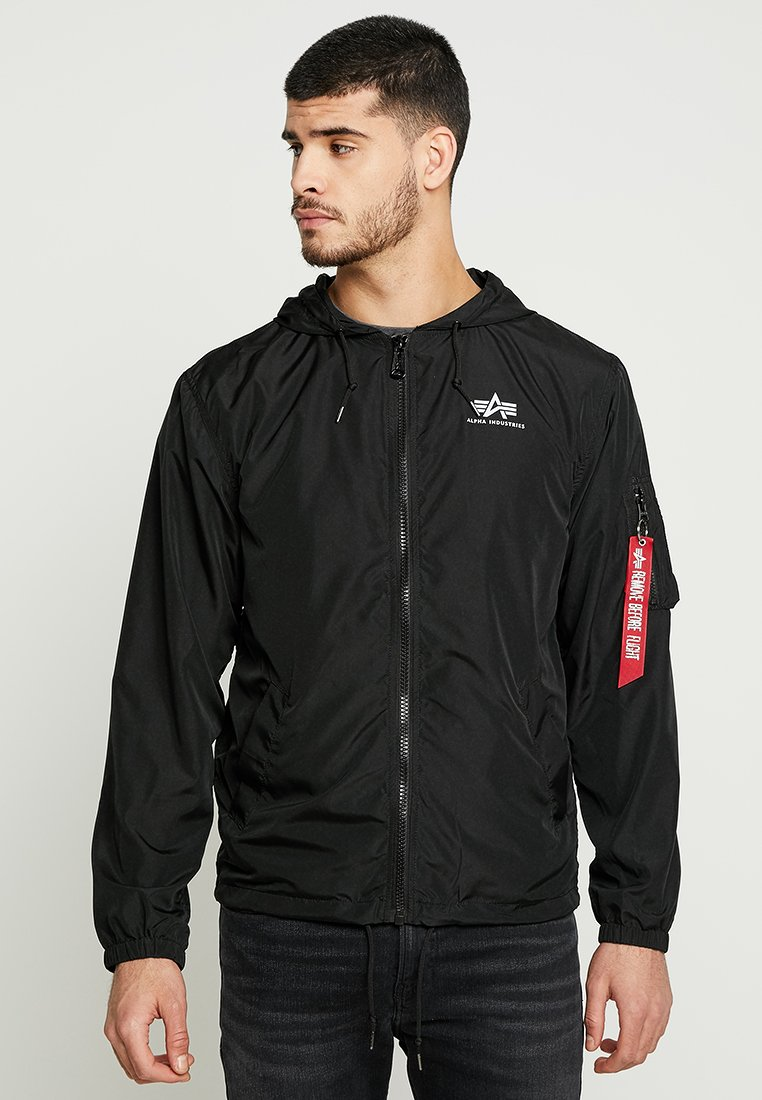Alpha Industries - Windbreaker - black