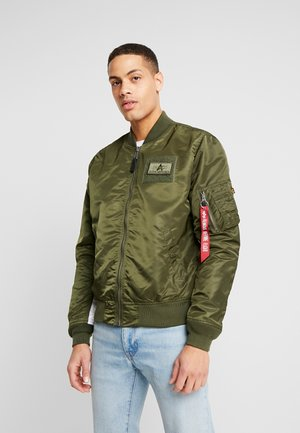 BLOUSON CUSTOM - Bomberjacka - dark green
