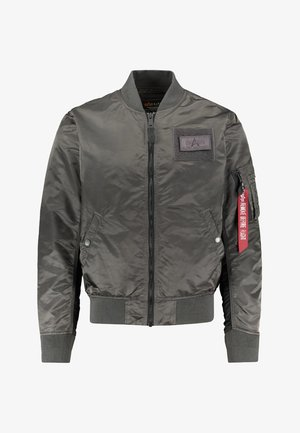 BLOUSON CUSTOM - Bomberjacks - anthracite