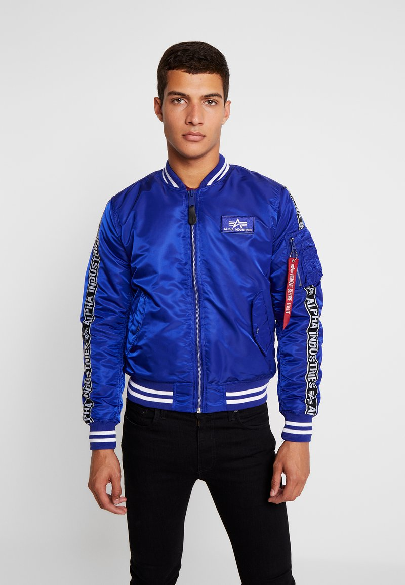 Alpha Industries - TAPE - Bomberjacke - nautical blue