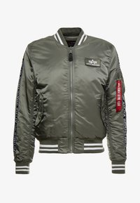 Alpha Industries - TAPE - Giubbotto Bomber - vintage green - 3