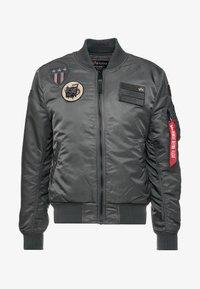 Alpha Industries - AIR FORCE - Bomberjacks - grey - 4