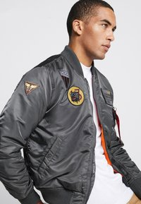 Alpha Industries - AIR FORCE - Giubbotto Bomber - grey - 3