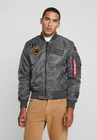 Alpha Industries - AIR FORCE - Giubbotto Bomber - grey - 0