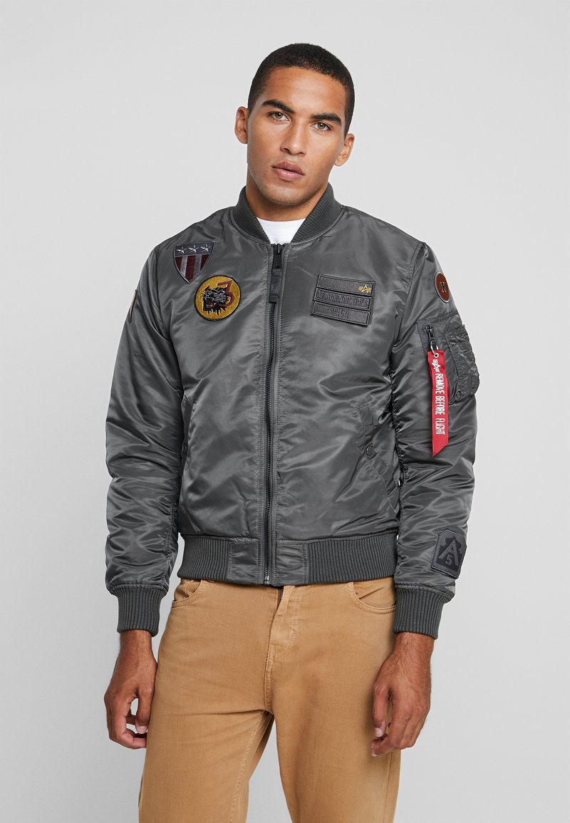 Alpha Industries - AIR FORCE - Giubbotto Bomber - grey
