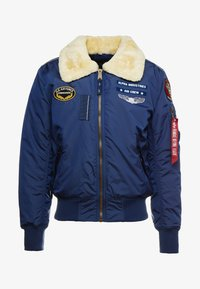 Alpha Industries - INJECTOR  AIR FORCE - Blouson Bomber - new navy - 3