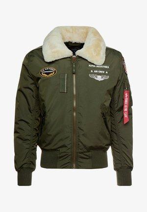 INJECTOR  AIR FORCE - Bomber bunda - dark green