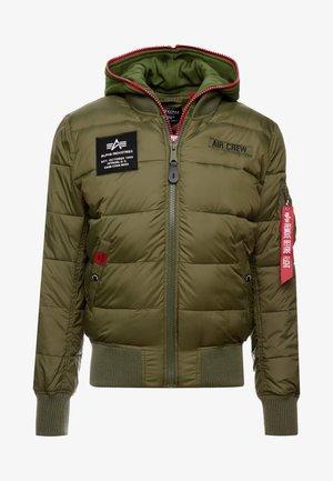 Zimní bunda - dark green