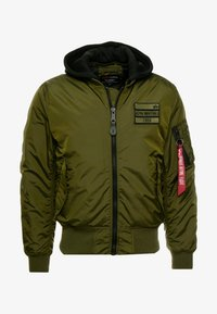 Alpha Industries - MA-1 ZIP HOOD - Bomberjacks - dark green - 4