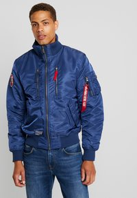 Alpha Industries - JACKET - Chaquetas bomber - new navy - 2