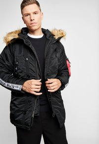 Alpha Industries - TAPE - Parka - schwarz - 0