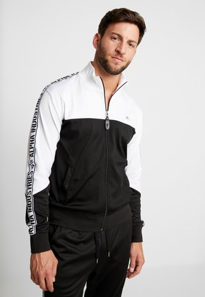 TRACK TAPE JACKET - Kurtka sportowa - black