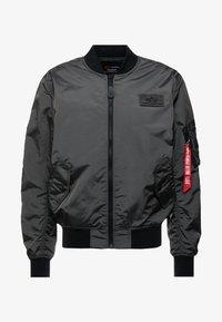 Alpha Industries - Chaquetas bomber - grey/black - 4