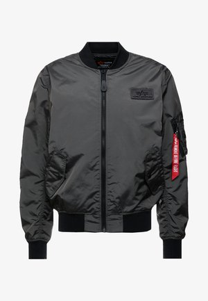Bomber bunda - grey/black