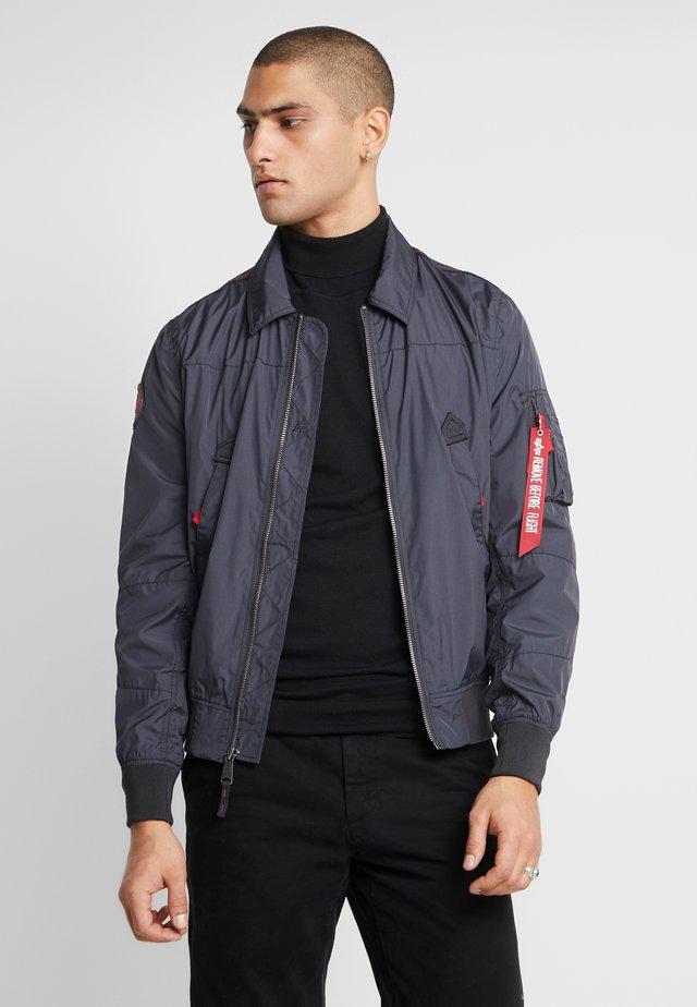 Bomber Jacket - iron grey