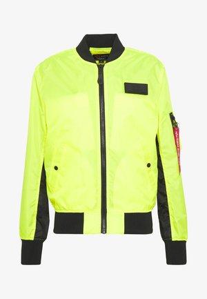 Blouson Bomber - neon yellow