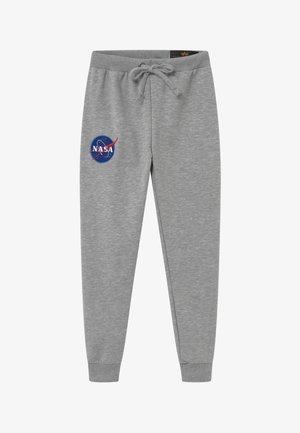 NASA KIDS TEENS - Tracksuit bottoms - grey heather