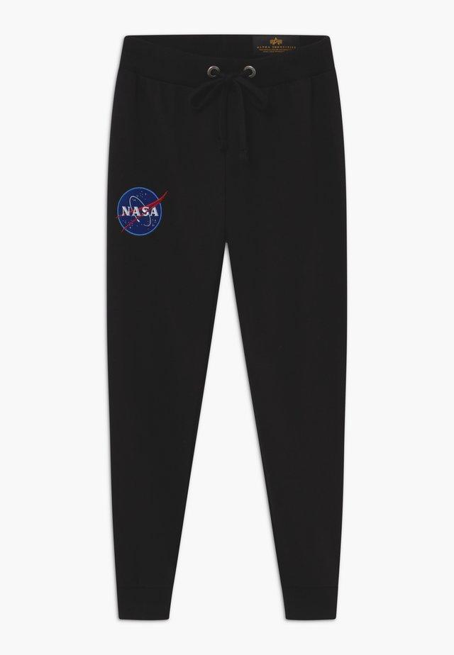 NASA KIDS TEENS - Teplákové kalhoty - black