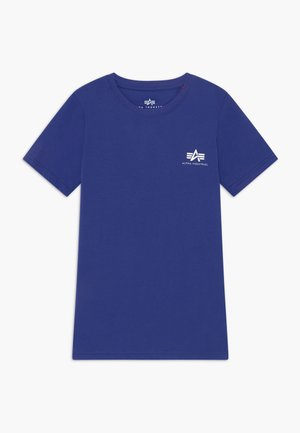 BASIC TEE SMALL LOGO KIDS/TEENS - T-shirt print - nautical blue