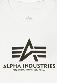 Alpha Industries - BASIC KIDS TEENS - T-shirts med print - white - 3