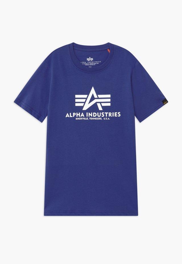 BASIC KIDS TEENS - Camiseta estampada - nautical blue