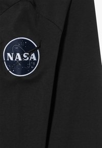 Alpha Industries - KIDS NASA  - Long sleeved top - black - 2