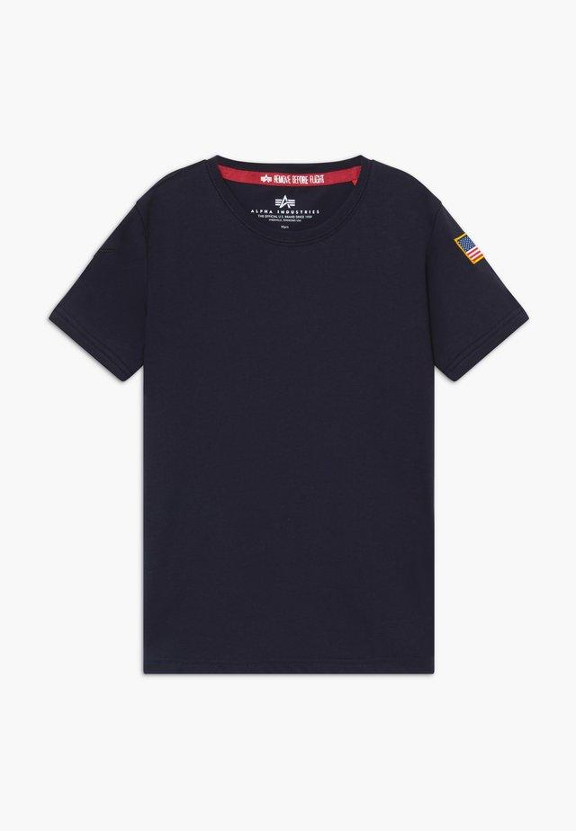 KIDS NASA  - T-shirt z nadrukiem - blue