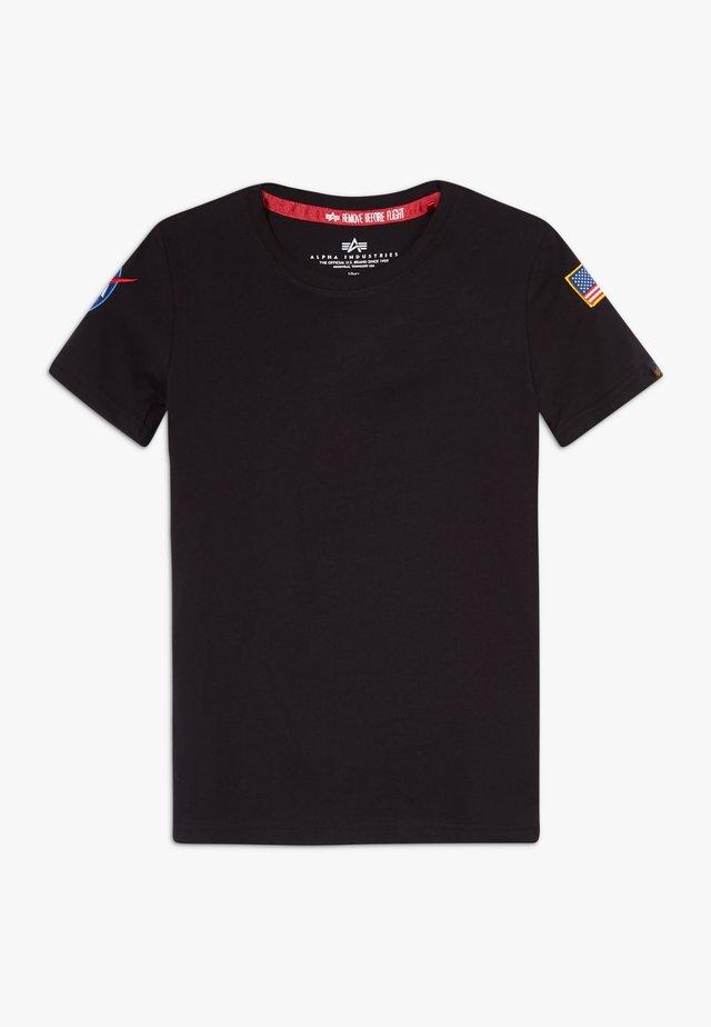 KIDS NASA  - T-shirt z nadrukiem - black