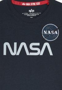Alpha Industries - NASA KIDS - T-shirts med print - blue - 3