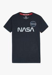 Alpha Industries - NASA KIDS - T-shirts med print - blue - 0