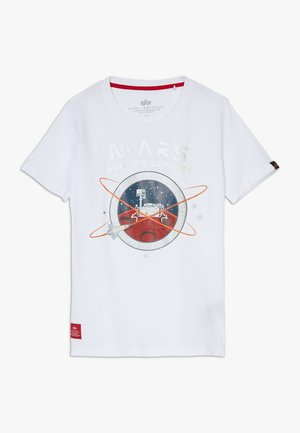 MISSION TO MARS KIDS TEENS - Print T-shirt - white