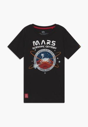 MISSION TO MARS KIDS TEENS - T-shirts med print - black