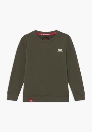 BASIC SMALL LOGO KIDS TEENS - Sweatshirt - olive