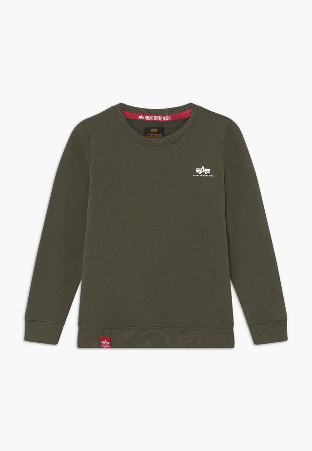 BASIC SMALL LOGO KIDS TEENS - Sweatshirt - olive