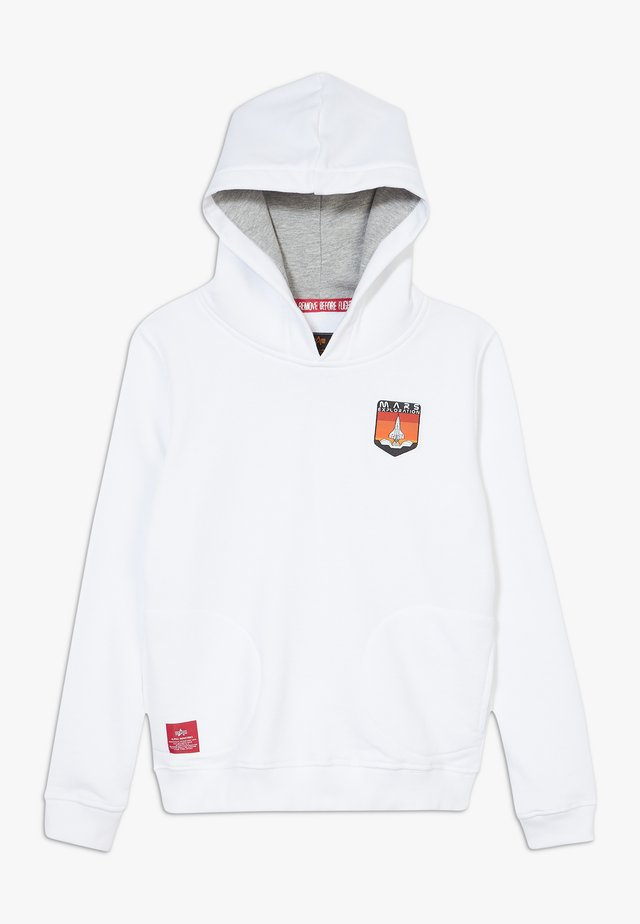 MISSION TO MARS HOODY KIDS TEENS - Mikina s kapucí - white