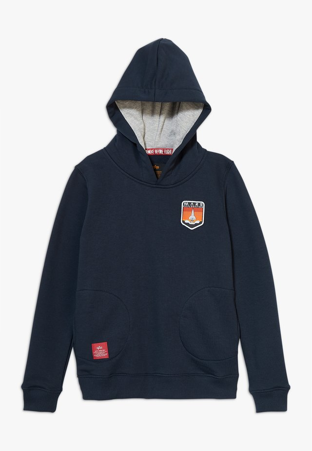 MISSION TO MARS HOODY KIDS TEENS - Mikina s kapucí - blue
