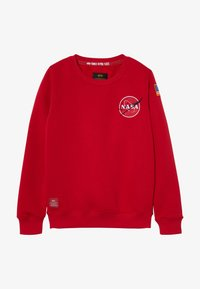 Alpha Industries - KIDS SPACE SHUTTLE - Mikina - speed red - 3