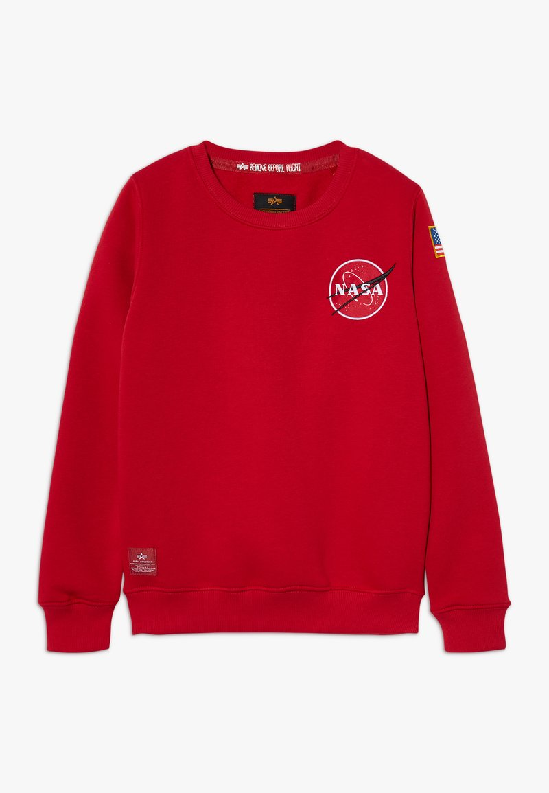 Alpha Industries - KIDS SPACE SHUTTLE - Mikina - speed red