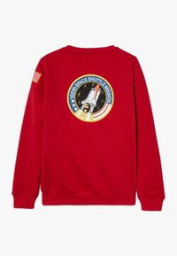 Alpha Industries - KIDS SPACE SHUTTLE - Mikina - speed red - 1