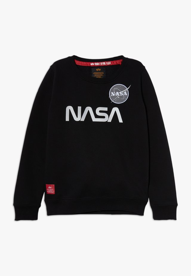 NASA REFLECTIVE KIDS TEENS - Mikina - black